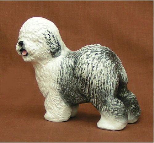 Ron Hevener Collectible Old English Sheepdog Figurine