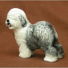 Ron Hevener Collectible Old English Sheepdog Figurine