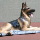 Ron Hevener Collectible German Shepherd Dog Figurine