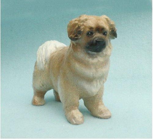 Tibetan Spaniel Dog Figurine