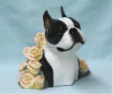 Boston Terrier Sculpture