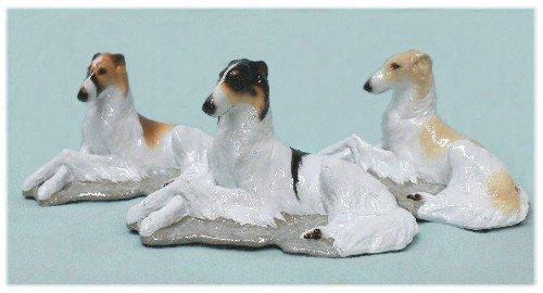 Borzoi Dog Collectible Figurine