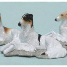 Borzoi Dog Collectible Figurine