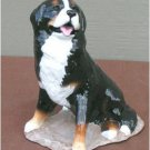 Ron Hevener Collectible Bernese Mountain Dog Figurine