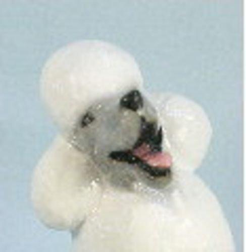 Poodle Dog Collectible Figurine