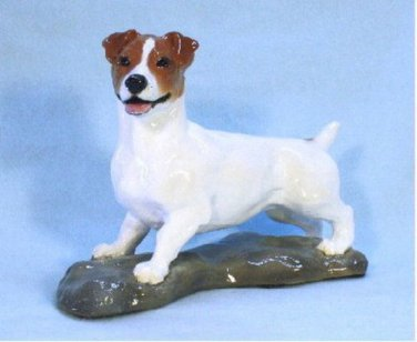 Ron Hevener Collectible Jack Russell Terrier Dog Figurine