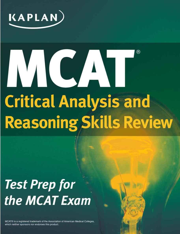 Kaplan MCAT 2015 Complete 7-Book Subject Review(e-Textbook)