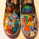 Pokemon hand painted shoes