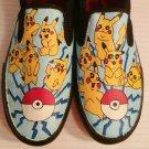 Pokemon Pikachu hand painted shoes