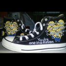 Minions Converse  hand painted shoes
