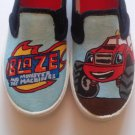 Blaze and the Monster Machines hand painted shoes