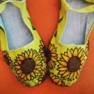 You choose the design hand painted Mary Janes