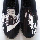 Sherlock hand painted shoes