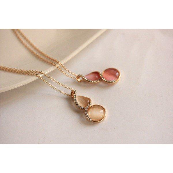 Elegant Crystal & Gemstone Necklace