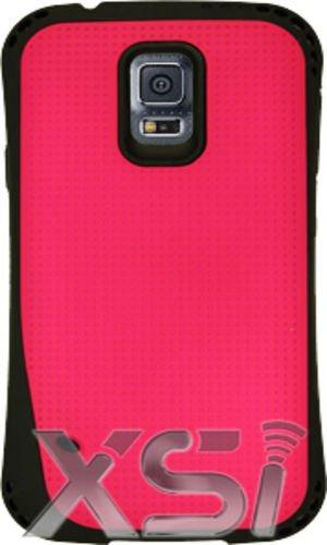 Samsung Galaxy S5 Armor Pink Case