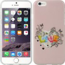 APPLE IPHONE6 PLUS TPU IMD CASE LOVE PINK