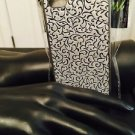 Iphone 5/5S Floral Silver Tone Case