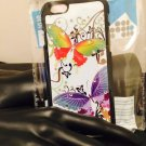 "Iphone 6 4.7"" Diamond Colorful Butterfly Case"