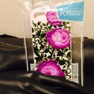 Iphone 5/5S Three Purple Roses Crystal Case