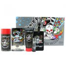 ED Hardy Born Wild Coffret Edt Spray 100ml/3.4oz  Hair & Body Wash 90ml/3oz