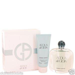 Acqua Di Gioia � Gift Set � 3.4 oz Eau De Parfum Spray   2.5 oz Body Lotion
