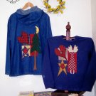 Jacket & Sweatshirt Country Primitive Applique FABRIC ONLY TCB-207-1