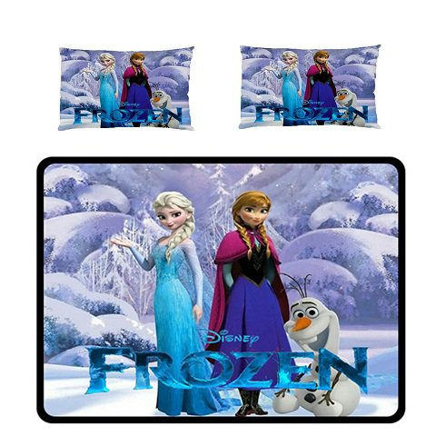 Frozen fleece Blanket Large with 2 pillow cases #84600175,84600179(2)