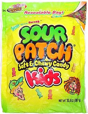 Sour Patch Kids 1.9lb Resealable Bag