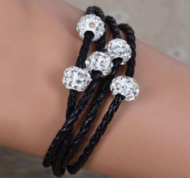 Crystal Sphere Bracelet