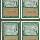 Fog x4 - NM - 4th Edition - Magic the Gathering