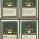 Clay Statue x4 - NM - 4th Edition - Magic the Gathering