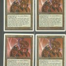 Yotian Soldier x4 - NM - 4th Edition - Magic the Gathering