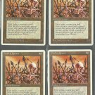 Wall of Spears x4 - NM - 4th Edition - Magic the Gathering