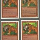 Sabretooth Tiger x4 NM 5th Edition