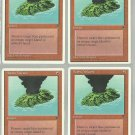 Active Volcano x4 NM Chronicles Magic the Gathering