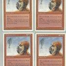 Mountain Yeti x4 NM Chronicles Magic the Gathering