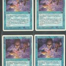 Puppet Master x4 NM Chronicles Magic the Gathering