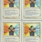 Indestructible Aura x4 NM Chronicles Magic the Gathering
