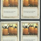 Shield Wall x4 NM Chronicles Magic the Gathering