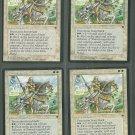 Order of Leitbur V1 x4 - Good - Fallen Empires - Magic the Gathering