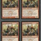 Towering Thunderfist x4 NM Gatecrash Magic the Gathering