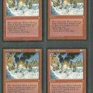 Word of Blasting x4 Good Ice Age Magic the Gathering