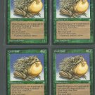 Chub Toad x4 Good Ice Age Magic the Gathering
