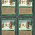 Woolly Mammoths x4 Good Ice Age Magic the Gathering