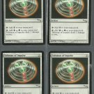 Talisman of Impulse x4 NM Mirrodin Magic the Gathering