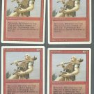 Hill Giant x4 - NM - Revised - Magic the Gathering