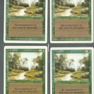 Tranquility x4 - NM - Revised - Magic the Gathering