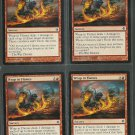 Wrap in Flames x4 NM Rise of the Eldrazi Magic the Gathering
