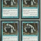 Sift x4 NM Stronghold Magic the Gathering