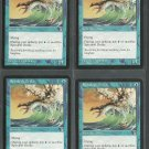 Spindrift Drake x4 NM Stronghold Magic the Gathering